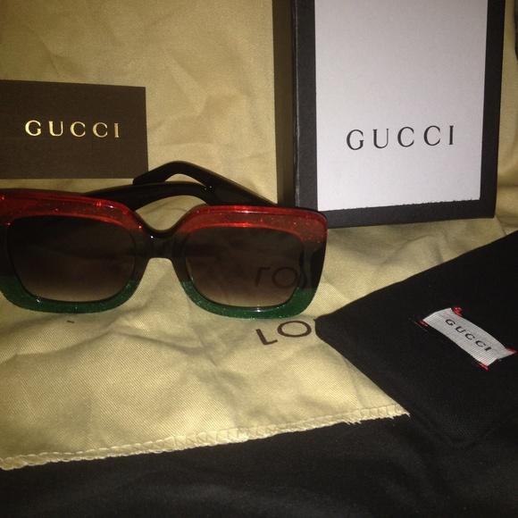Gucci Accessories   Gg 0083s Oversized Square Sunglasses   Poshmark 16cb67b834d5